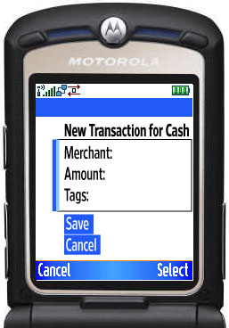 Cash Transaction
